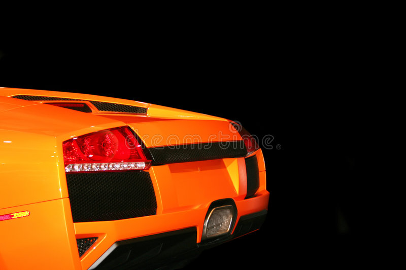 Expensive, fancy sports car royalty free stock photo
