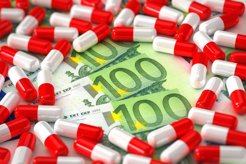 Download Expensive Medication Concept Stock Illustration - Image: 19290764