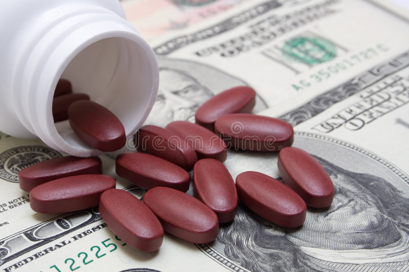 Expensive Medicines Royalty Free Stock Photo