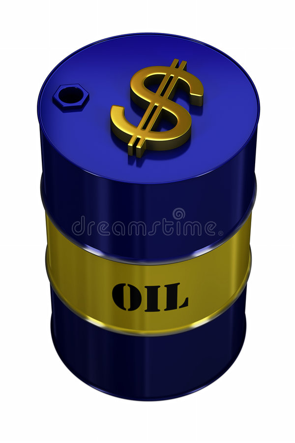 Expensive Oil vector illustration
