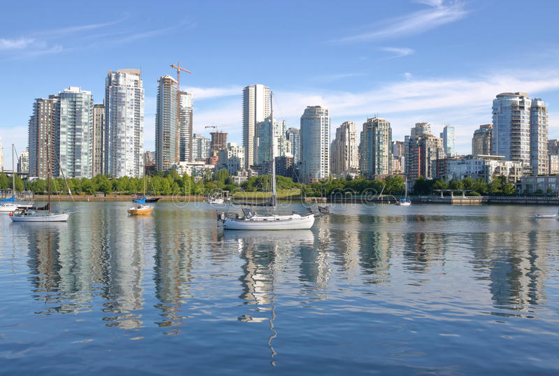 Expensive Real Estate in Vancouver, Canada royalty free stock photo