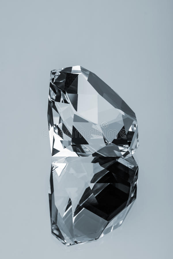 Diamond and Reflection royalty free stock photography