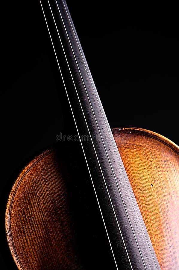Expensive Violin Black Bk royalty free stock photography