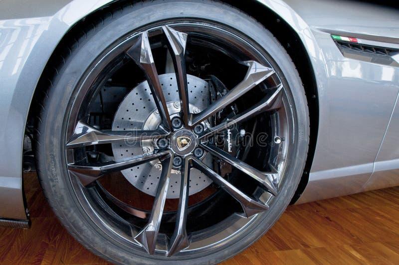 Expensive Wheel stock photography