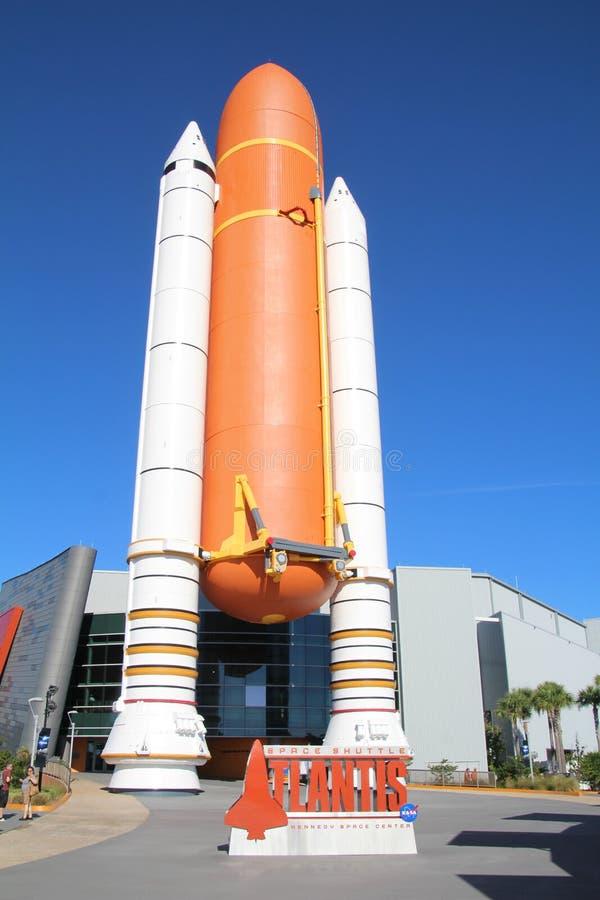 Experiência de Shuttle de Espaço fotos de stock