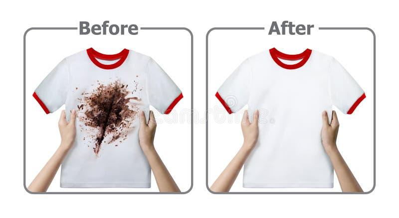 Experiência do removedor de mancha imagem de stock