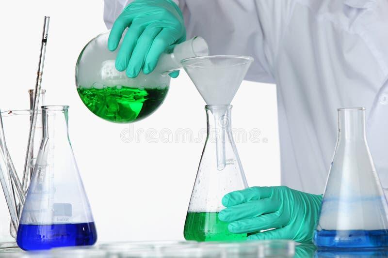 Experiência química fotos de stock