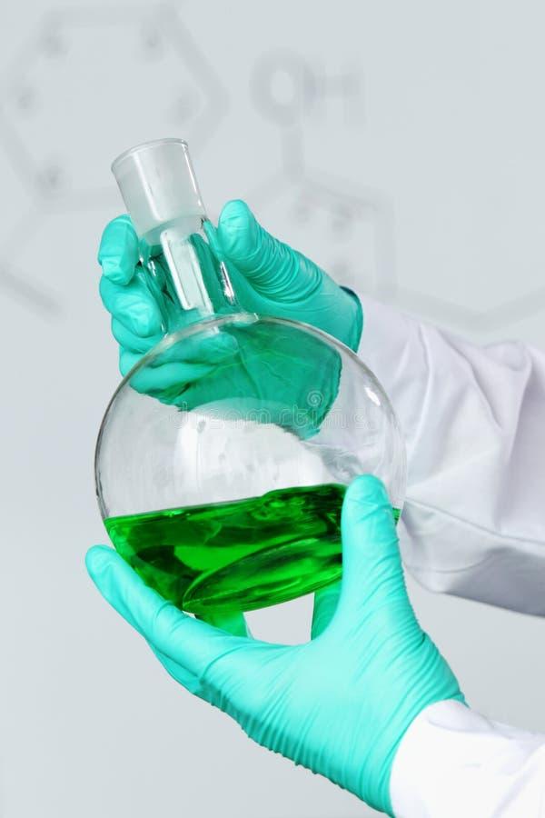 Experiência química imagem de stock