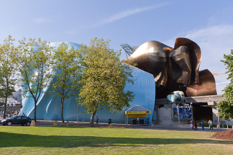 Download Experience Music Project Seattle Editorial Stock Image - Image: 15715549