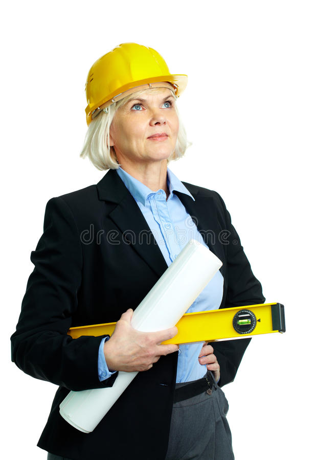 Experienced Architect Stock Image