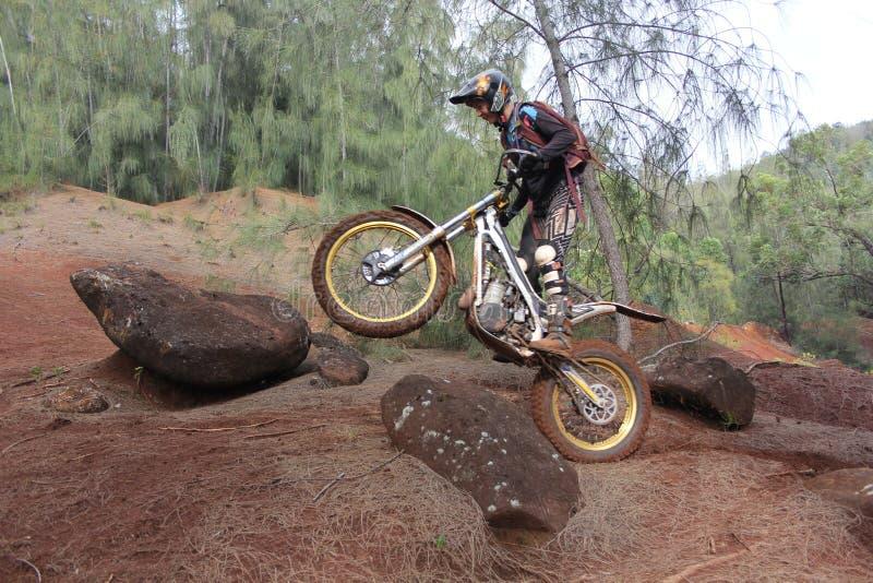 Experimentações biking da sujeira fotos de stock