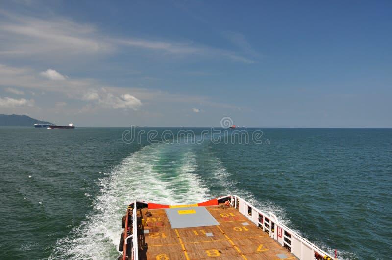 Experimentações no passo de Malacca imagens de stock