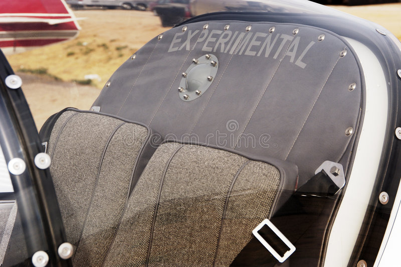 Experimental Aircraft 1. Experimental aircraft on display at an airshow royalty free stock photography