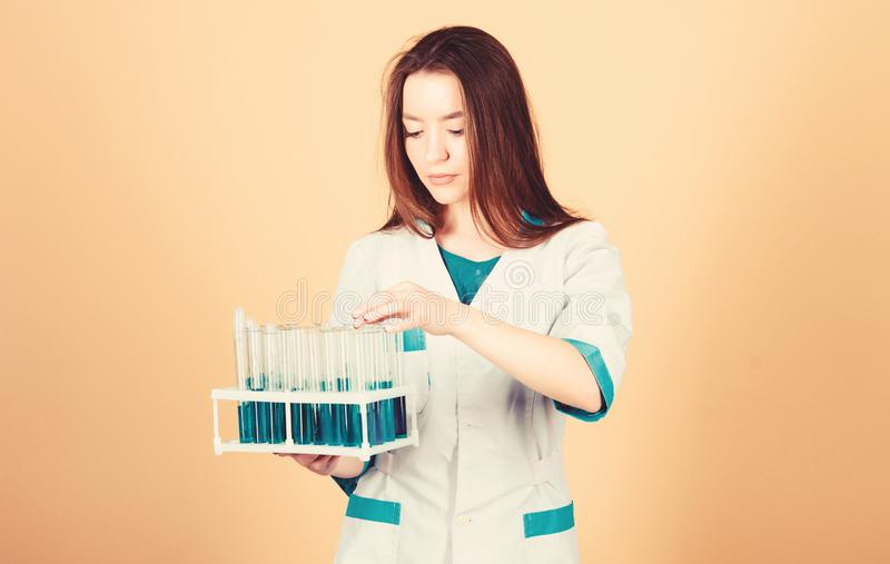 Experimental treatment concept. Cancer markers analysis. Health care. Medical analysis clinic. Check health with. Analysis. DNA and genetics. Medical analysis royalty free stock image