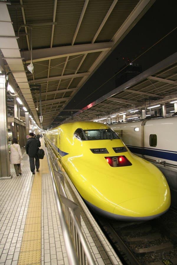 Experimentele Shinkansen royalty-vrije stock fotografie