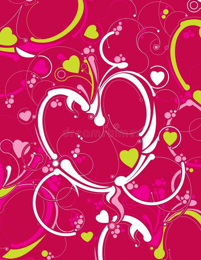 experimentell hjärta stock illustrationer