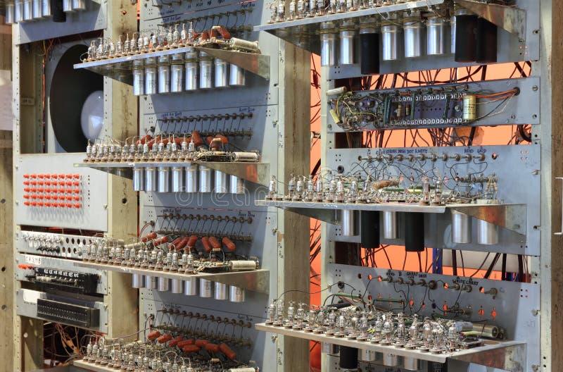 Experimenteller Computer stockbild