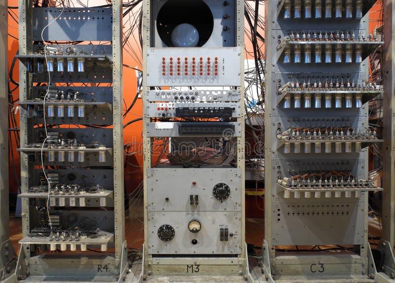 Experimenteller Computer stockfoto