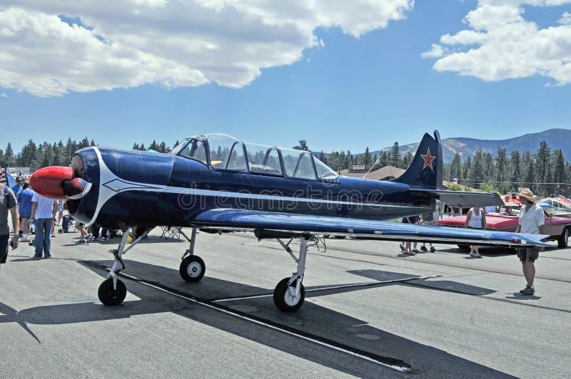Experimentellt flygplan arkivfoton