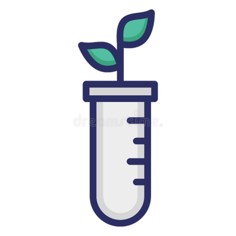 Experimentieren mit Botanik, Experimentieren isolierter Vector Icon, die leicht zu ändern oder zu bearbeiten vektor abbildung