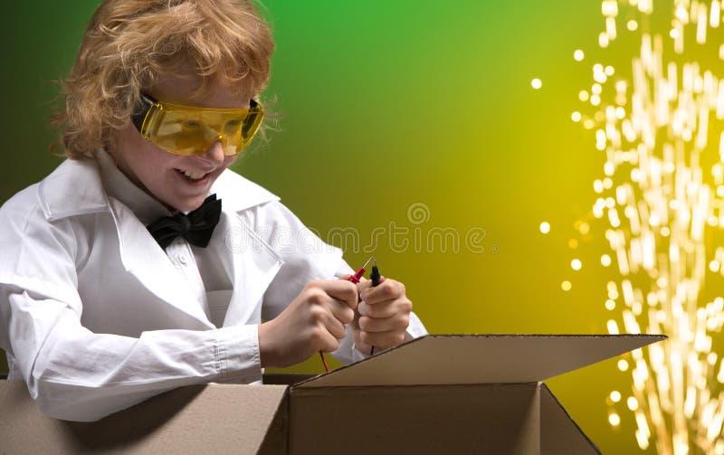 Experimento científico. imagen de archivo