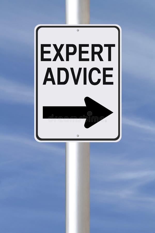 Expert Advice This Way stock photos