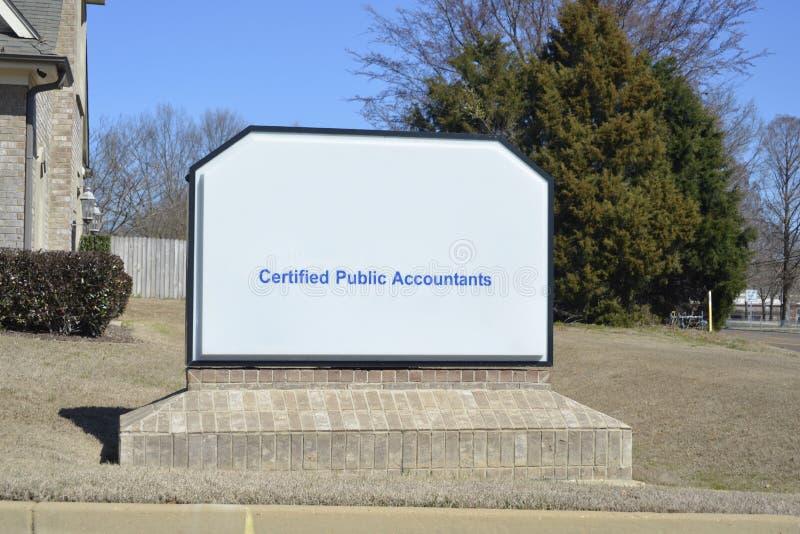 Expert-comptable certifié images stock