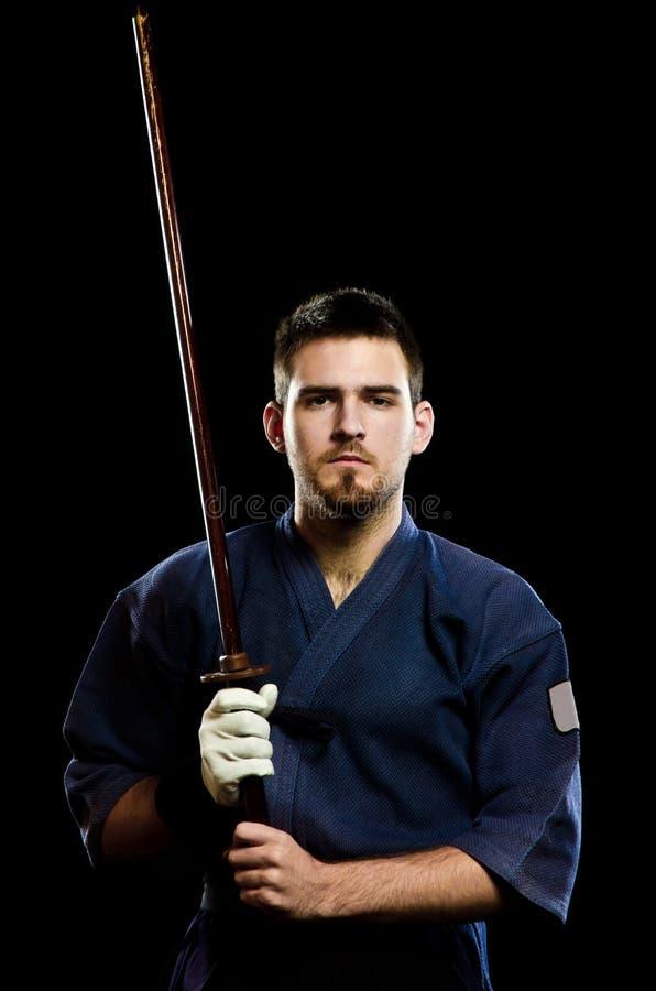 Expert en matière de Kendo photos libres de droits
