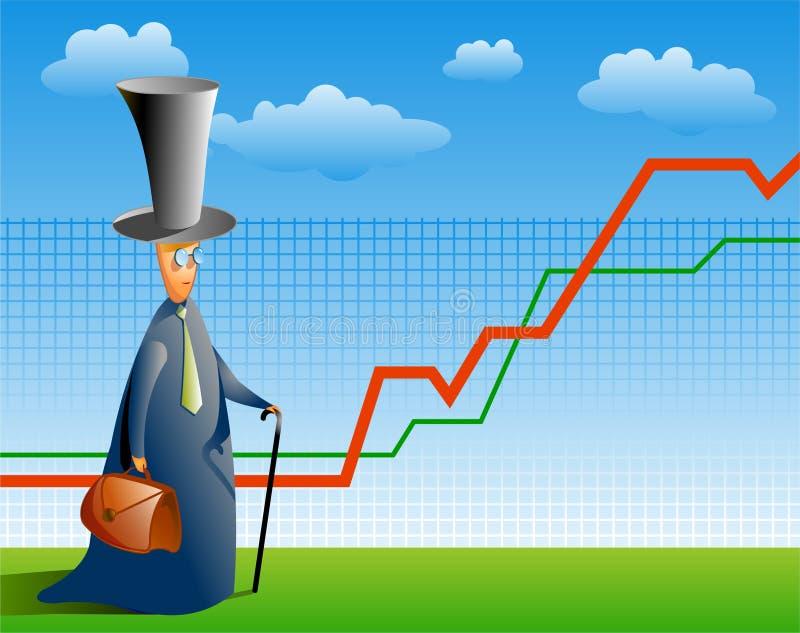 expert marknadsmateriel vektor illustrationer