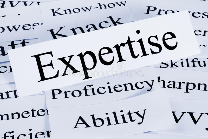 Download Expertise Concept stock image. Image of know, words, expertise - 25835385