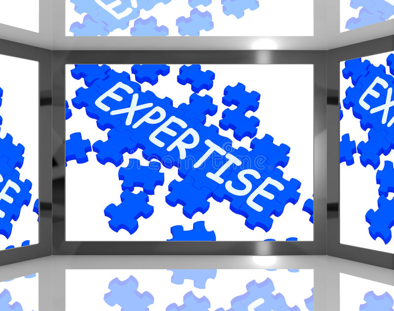 Download Expertise On Screen Shows Experienced Acting Stock Illustration - Image: 28263028