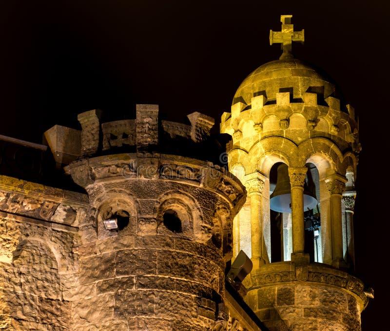 Expiatory Tempel van het Heilige Hart (Barcelona) stock afbeeldingen