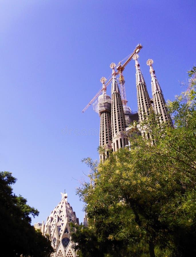 The Expiatory Temple of the Sagrada Familia, basilica in Barcelona,. Catalonia. Spain. Europe. The Expiatory Temple of the Sagrada Familia, known as the Sagrada stock photos