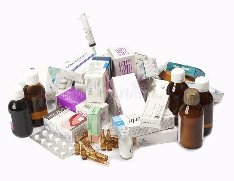 Download Expired Medicine editorial stock photo. Image of white - 15880048
