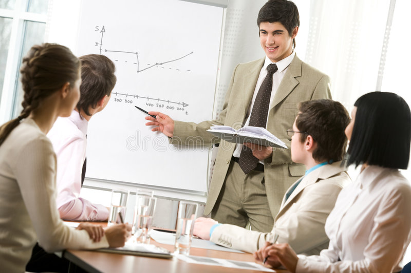 Download Explaining Graph Stock Images - Image: 8372564