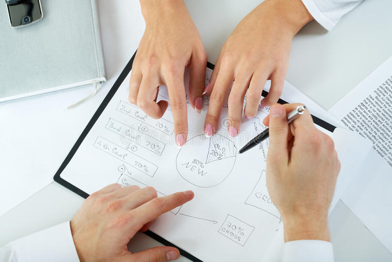Download Explaining strategy stock photo. Image of up, finger - 26268576