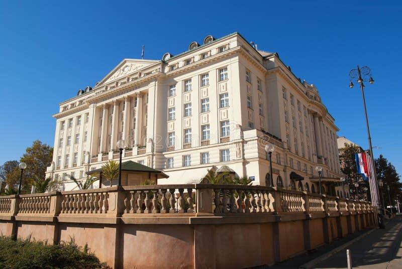 Explanada del hotel foto de archivo