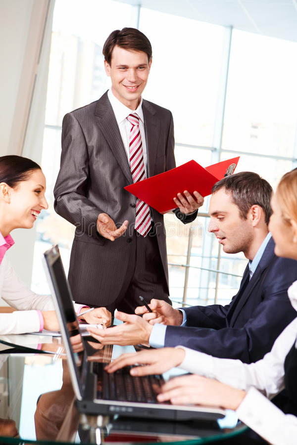 Download Explanation stock photo. Image of planning, communication - 12515078