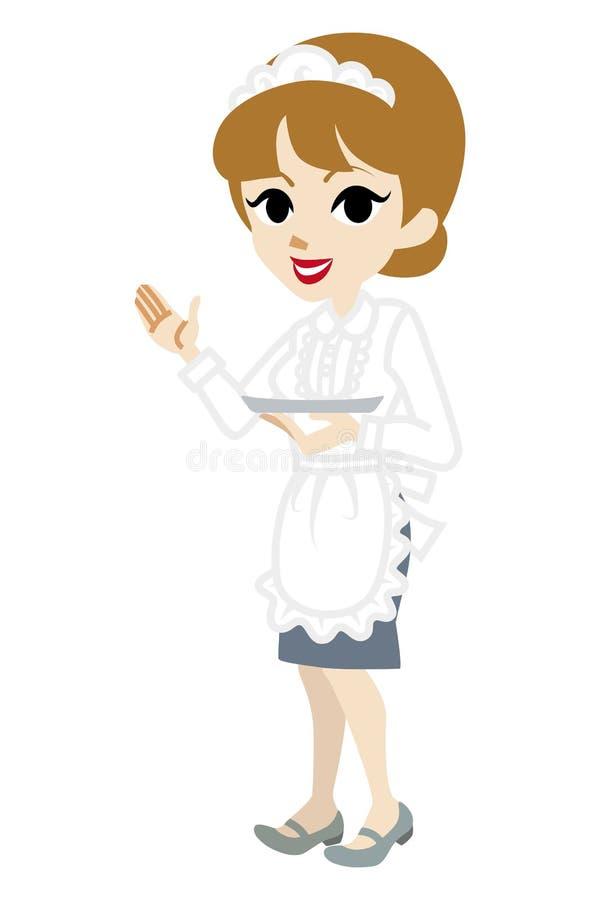 Explicación de la camarera libre illustration