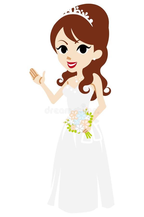 Explicación de la novia libre illustration