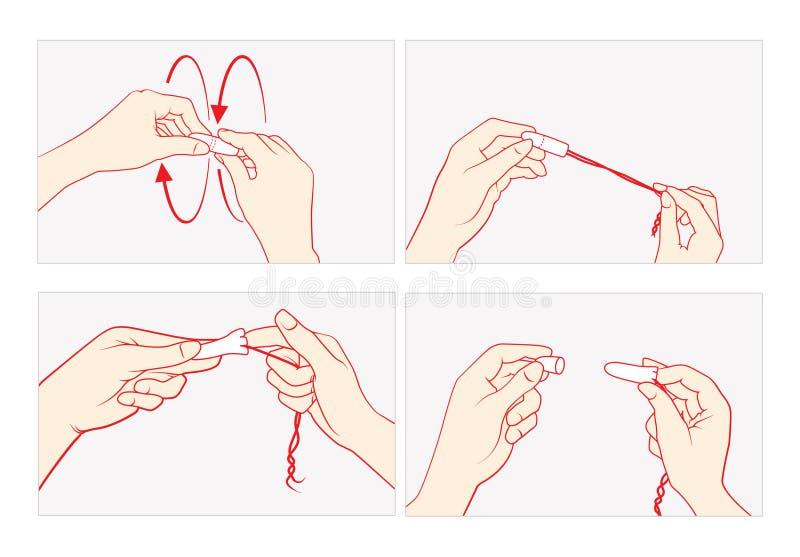 Explicación técnica del tapón stock de ilustración