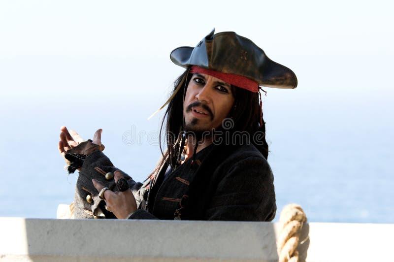 Explication du pirate image stock