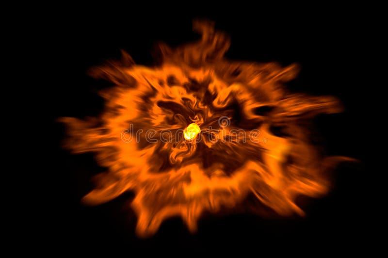 Explodeer stock illustratie