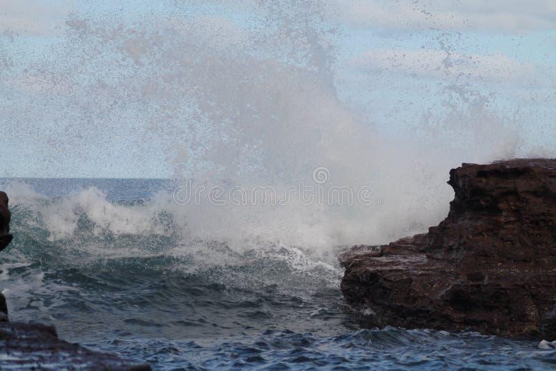 Exploderende Golf stock afbeeldingen