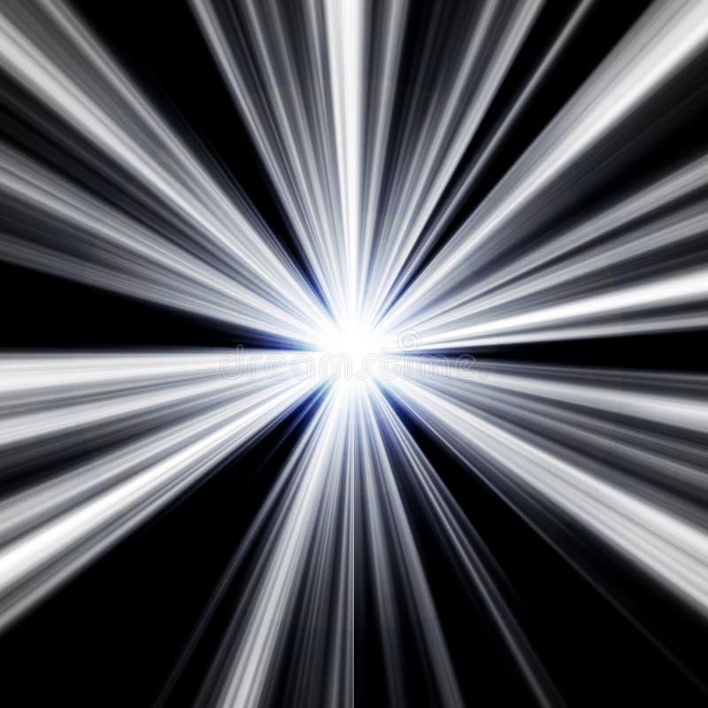Explodierender Stern lizenzfreie abbildung