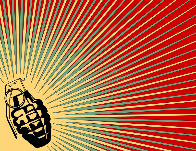 Download Exploding Grenade Background Royalty Free Stock Images - Image: 4774769