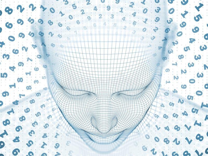 Exploding Mind vector illustration