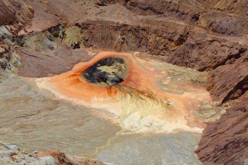 Exploitation à ciel ouvert de la mine de la Reine photo libre de droits