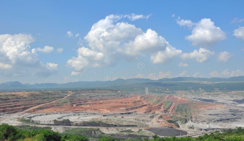 Exploitation de charbon image libre de droits