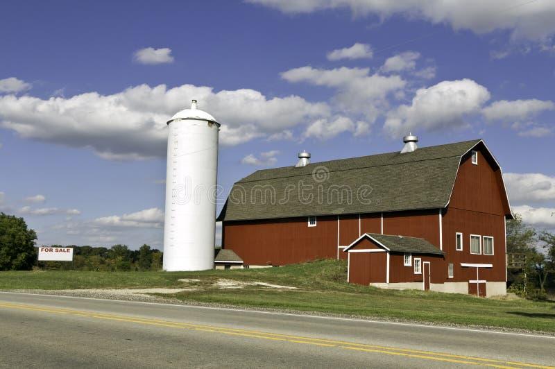 Exploração agrícola americana para a venda fotografia de stock royalty free